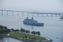 Barco de la Armada Foto de archivo