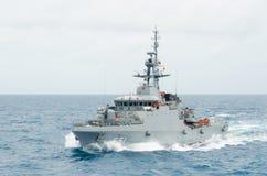 Barco de la Armada Imagen de archivo libre de regalías