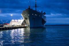 Barco de la Armada de los E.E.U.U. Imagen de archivo
