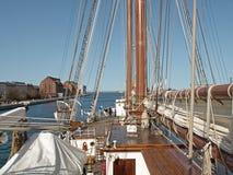 Barco de la Armada español - sebastian de elcano Imágenes de archivo libres de regalías