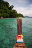 Barco de la cola larga foto de archivo libre de regalías