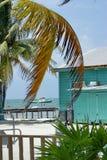 Barco de la costa del calafate de Caye fotografía de archivo libre de regalías