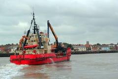 Barco de la draga Imagenes de archivo