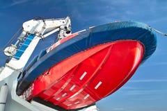 Barco de la emergencia Imagenes de archivo