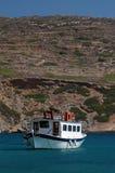 Barco de la excursión foto de archivo