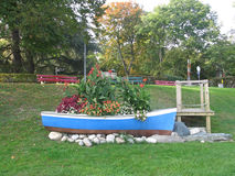 Barco de la flor fotografía de archivo libre de regalías