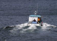 Barco de la langosta Fotografía de archivo libre de regalías
