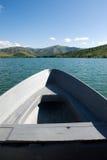 Barco de la natación Fotografía de archivo libre de regalías