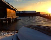 Barco de la nieve Imagen de archivo