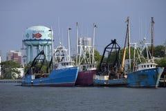 Barco de la pesca profesional Fotografía de archivo