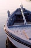 Barco de la puesta del sol Fotografía de archivo libre de regalías
