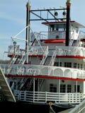 Barco de la rueda de paleta en Savannah Georgia foto de archivo