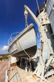 Barco de la seguridad Imagen de archivo libre de regalías