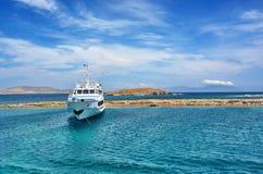 Barco de la travesía Fotografía de archivo
