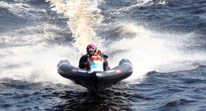 Barco de la velocidad. Fotografía de archivo