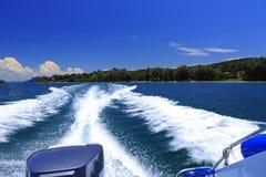 Barco de la velocidad foto de archivo libre de regalías