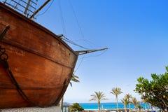 Barco de la virgen in Santa Cruz de La Palma Stock Images