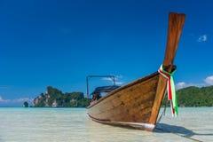 Barco de Longtail Fotografía de archivo