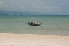 Barco de Longtail Fotografia de Stock Royalty Free