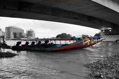 Barco de Longtail Imagenes de archivo