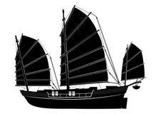 Barco de los desperdicios del vector Imagenes de archivo