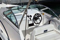 Barco de lujo de la potencia Foto de archivo libre de regalías