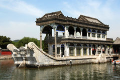Barco de mármore foto de stock