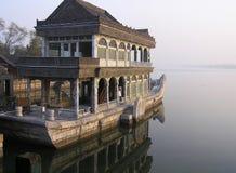Barco de mármore em Yi ele Yuan Foto de Stock