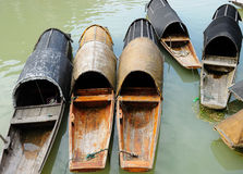 Barco de madeira Fotos de Stock