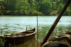 Barco de madeira Imagem de Stock