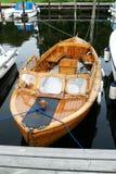 Barco de madeira norueguês fotografia de stock royalty free