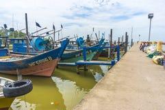 Barco de madeira tradicional Fotos de Stock