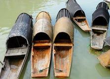Barco de madera Fotos de archivo