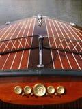 Barco de madera. imagenes de archivo