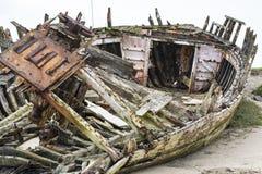 Barco de madera de Werck Fotos de archivo libres de regalías