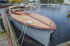 Barco de madera hermoso Fotografía de archivo libre de regalías