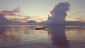 Barco de mar de Tailândia Foto de Stock Royalty Free