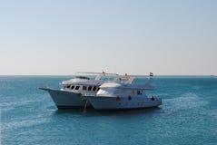Barco de Mar Rojo Fotos de archivo
