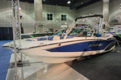 Barco de Mastercraft X20 na exposição Fotografia de Stock