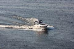 Barco de motor Fotografia de Stock Royalty Free