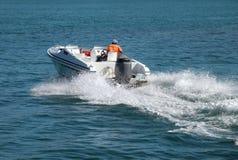 Barco de motor Imagens de Stock