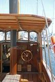 Barco de motor antiquado Imagem de Stock Royalty Free