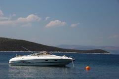 Barco de motor luxuoso Imagem de Stock