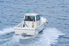Barco de motor rápido Imagem de Stock Royalty Free