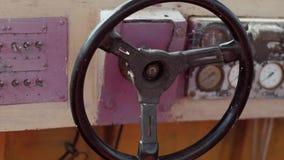 Barco de motor viejo almacen de video