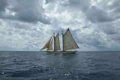 Barco de navegación Fotografía de archivo