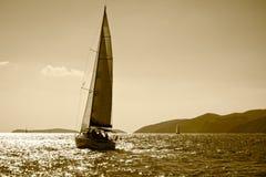 Barco de navegación Imagen de archivo libre de regalías