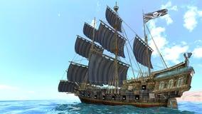 Barco de navegación Imagenes de archivo
