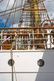 Barco de navegación alto viejo Imagen de archivo libre de regalías