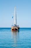 Barco de navegación del vintage Foto de archivo